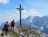 Gipfel gegen Zugspitze