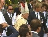Papst Johannes Paul II. in Trausdorf