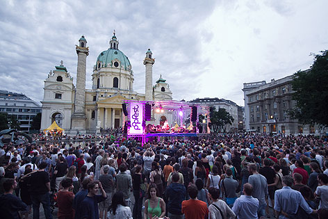 Popfest Wien Karlsplatz