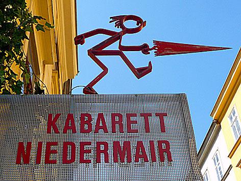 Kabarett Niedermair - Eingang
