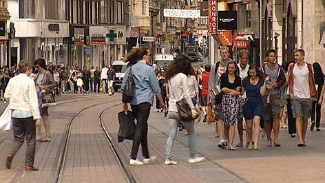 Zentrum von Zagreb