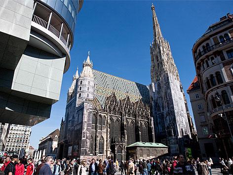 Stephansplatz in Wien
