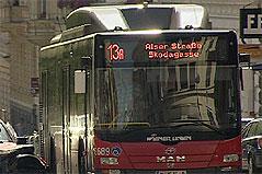 Bus der Linie 13A