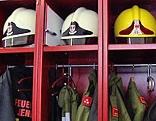 Feuerwehrhelme, Bürgermeister und interimistischer FF-Kommandant