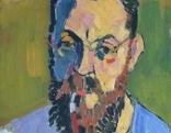 André Derain, Porträt des Henri Matisse, 1905, Öl auf Leinwand