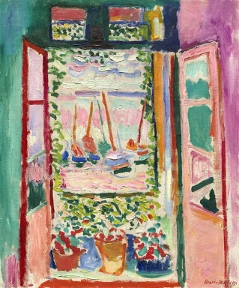 Henri Matisse, Das offene Fenster, 1905, Öl auf Leinwand