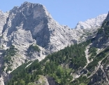 Großen Priel, Blick Richtung Ost-Süd-Ost zur Welserhütte1726m
