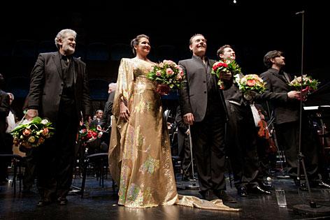 Salzburger Festspiele Netrebko Domingo Verdi