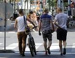 Fußgänger auf der Mariahilfer Straße