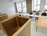 Wahllokal in Wien-Wieden