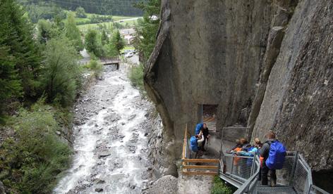 Durch die Schnanner Klamm zur Fritzhütte