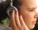 Hören Kopfhörer