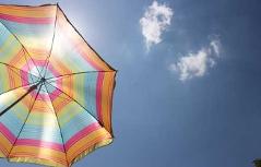 Sommer Sonne Sonnenschirm Ozon