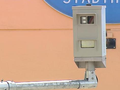 Öbb Rotlicht Kamera an Bahnübergang