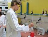 Chemie HTL in Kramsach, Labor