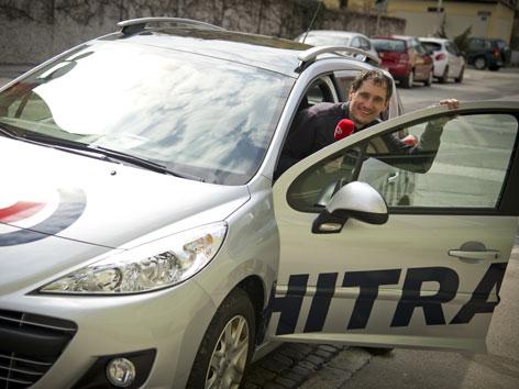 Gerhard Petschar mit Ö3-Auto
