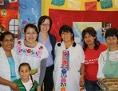 Das Team von SOMOS-Salzburg & Mónica Ladinig-Chavez (2.v.l.)  für das Interkulturelle Familienfrühstück