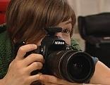 Bei der Tierfotografin