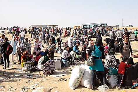 Syrische Flüchtlinge im Irak