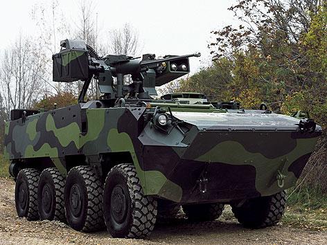 """Steyr Pandur II , 8X8"""" (Radpanzer) von Steyr-Daimler-Puch"""