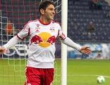 Jonathan Soriano jubelt, Red Bull Salzburg