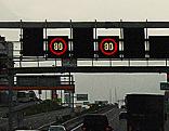 Tempolimit Tempo 80 km/h Autobahn Walserberg Geschwindigkeit
