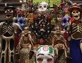 Opfergaben für die Toten in Mexiko City, 2012 zum Tag der Toten (Día de los Muertos)