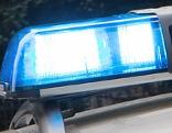 Blaulicht eines Rettungsfahrzeugs