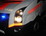 Unfall Rettungsauto