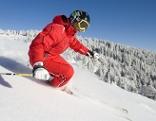 Skifahrer in Puchberg