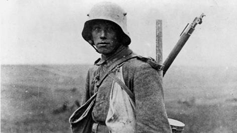 Soldat Erster Weltkrieg