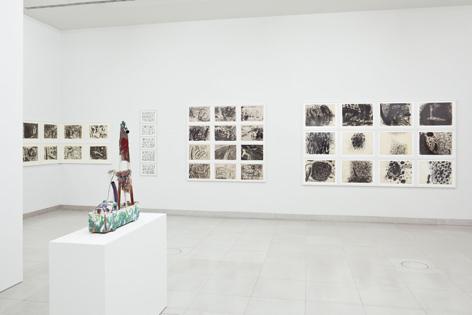Bilder von Gunter Damisch in der Ausstellung