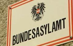 """Schild """"Bundesasylamt"""""""