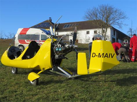 """""""Gyrocopter"""" bei Tragwein abgestürzt - ooe.ORF.at"""