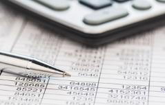 Kugelschreiber Taschenrechner Rechnungen