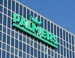 Gebäude mit Palmers-Logo