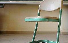 leerer Sessel Schule