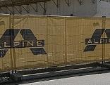 Alpine-Baustellenabsicherung