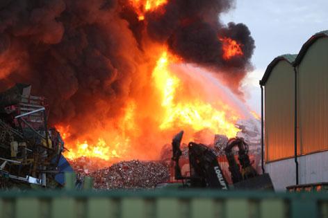 Großbrand in Edt bei Lambac