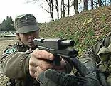 Heer Jägerbataillon 25 Nachwuchs schießen
