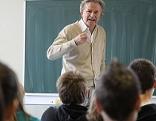 Vortrag im Klassenzimmer