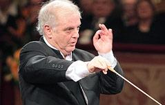Der Dirigent Daniel Barenboim