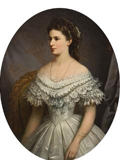 Porträt von Kaiserin Elisabeth