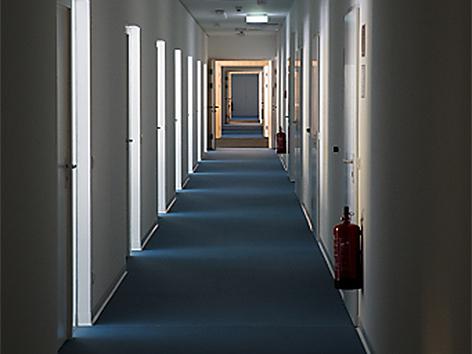 Gang Schubhaftzentrum Vordernberg