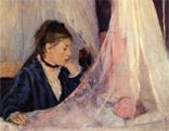 Berthe Morisot: Wiege (1873)