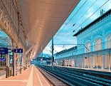 Bahnsteige am Salzburger Hauptbahnhof
