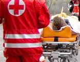 Sanitäter des Roten Kreuzes