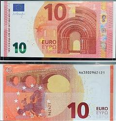 Zehn Euro Schein