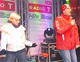 ORF Radio Tirol Hitbox und DJ Alex in Kitzbühel