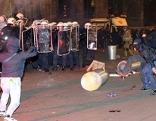 Demo gegen Akademikerball